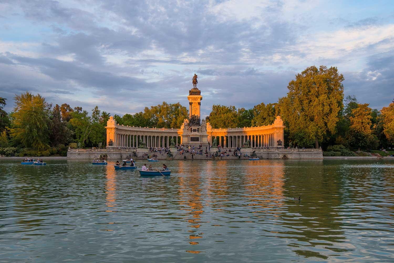 Retiro Park - Madrid Itinerary Attractions