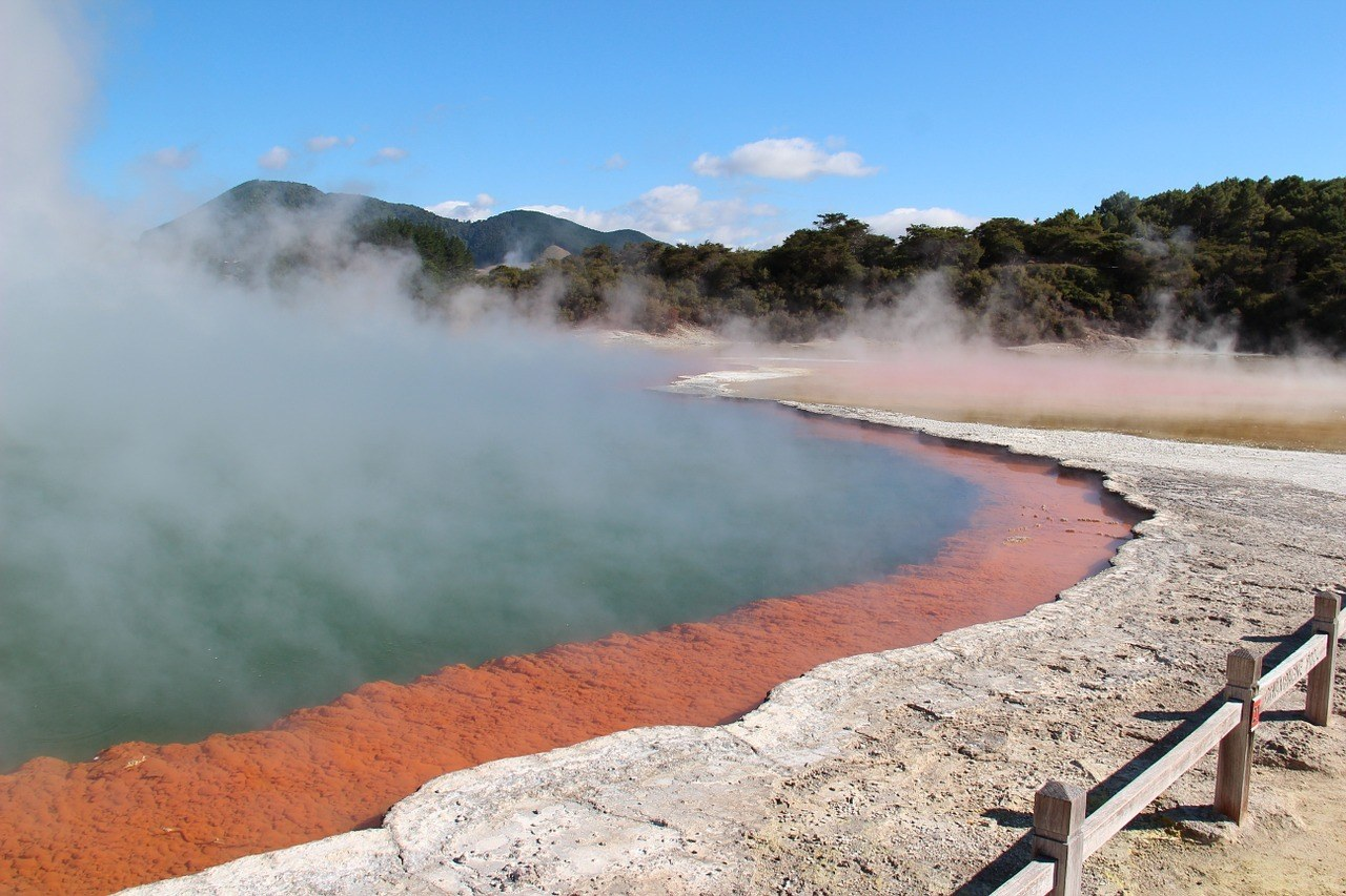 Rotorua - Places to visit on the North Island of New Zealand