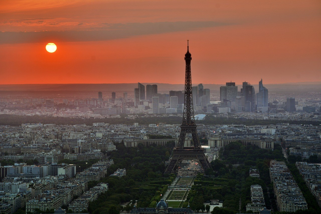 Sunset - 2 Days in Paris Itinerary