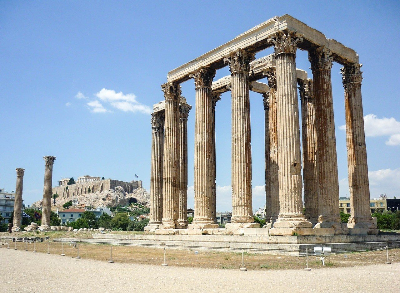 Temple of Zeus - 2 Days in Athens Travel Itinerary