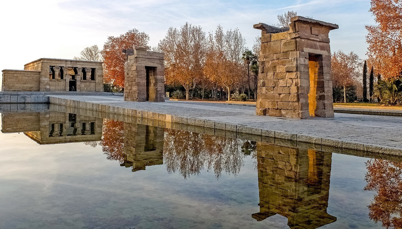 The Debod Temple - Madrid in 48 Hours