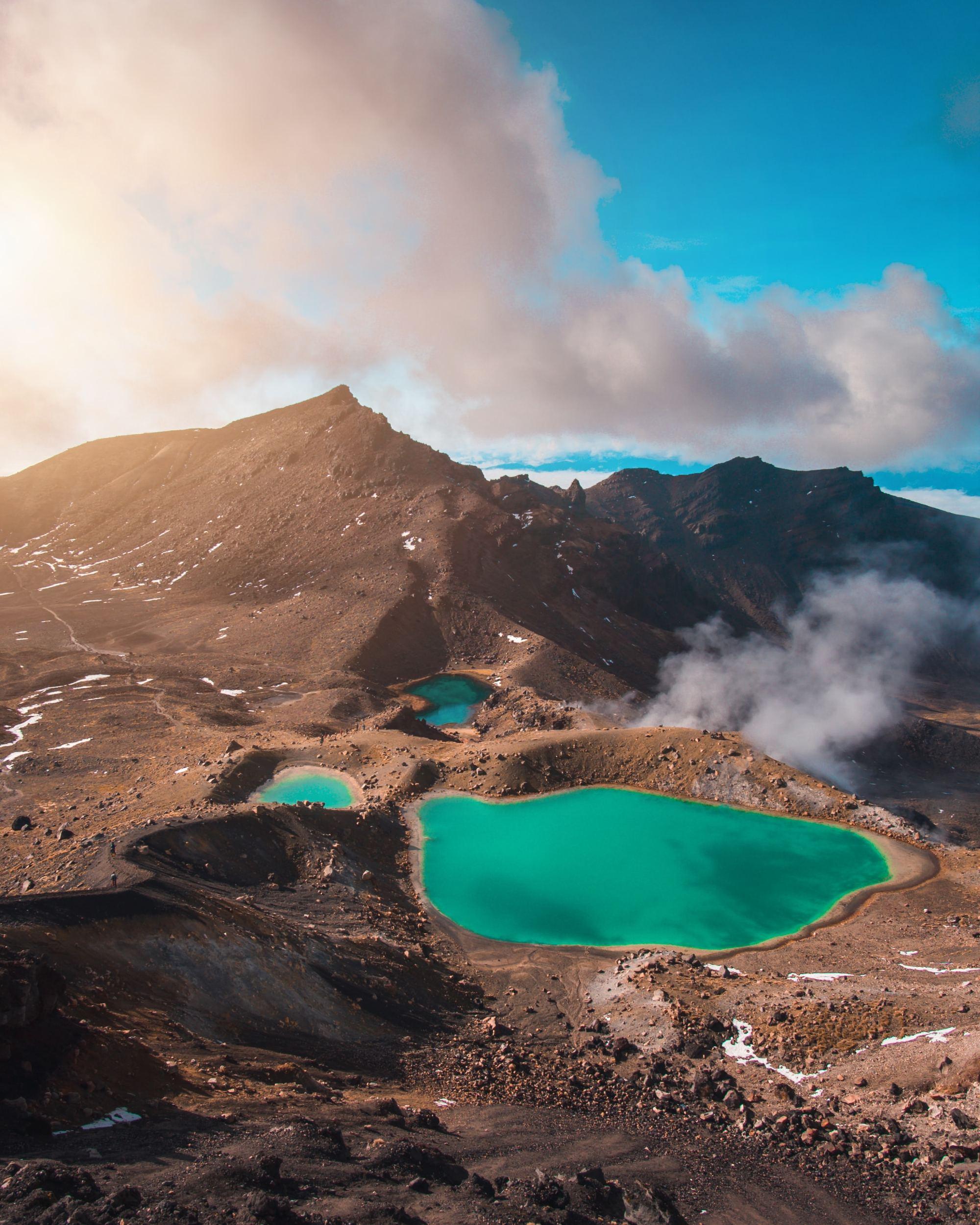 Tongariro National Park - North Island new Zealand