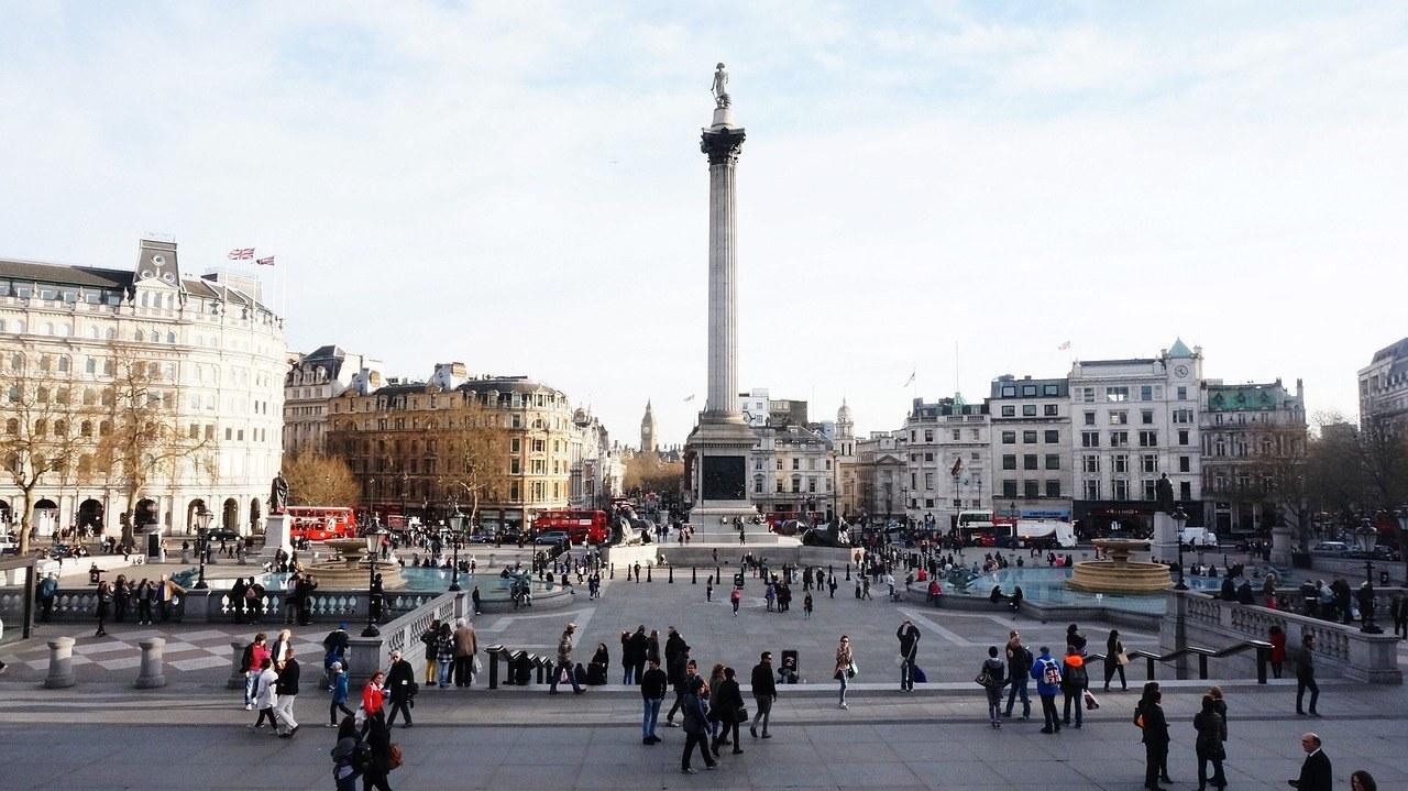 Trafalgar Square- London in Two Days