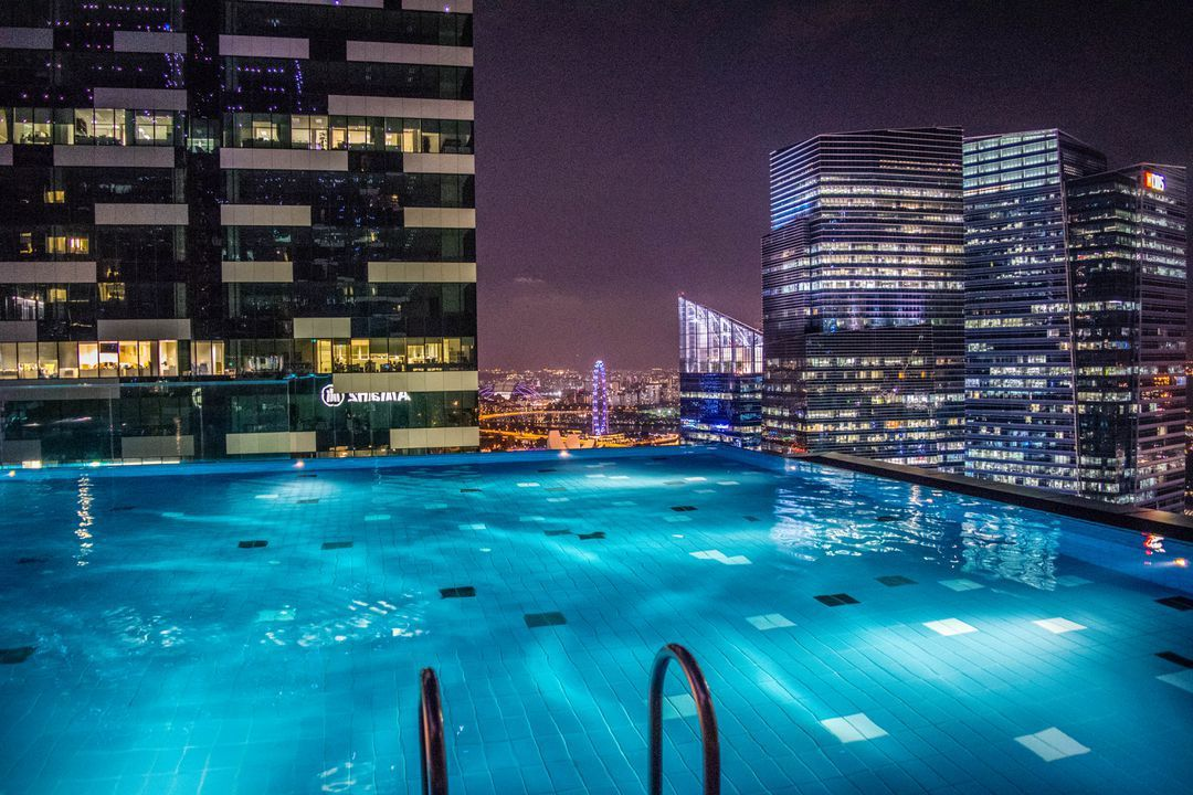 Westin Singapore Rooftop Infinity Pool