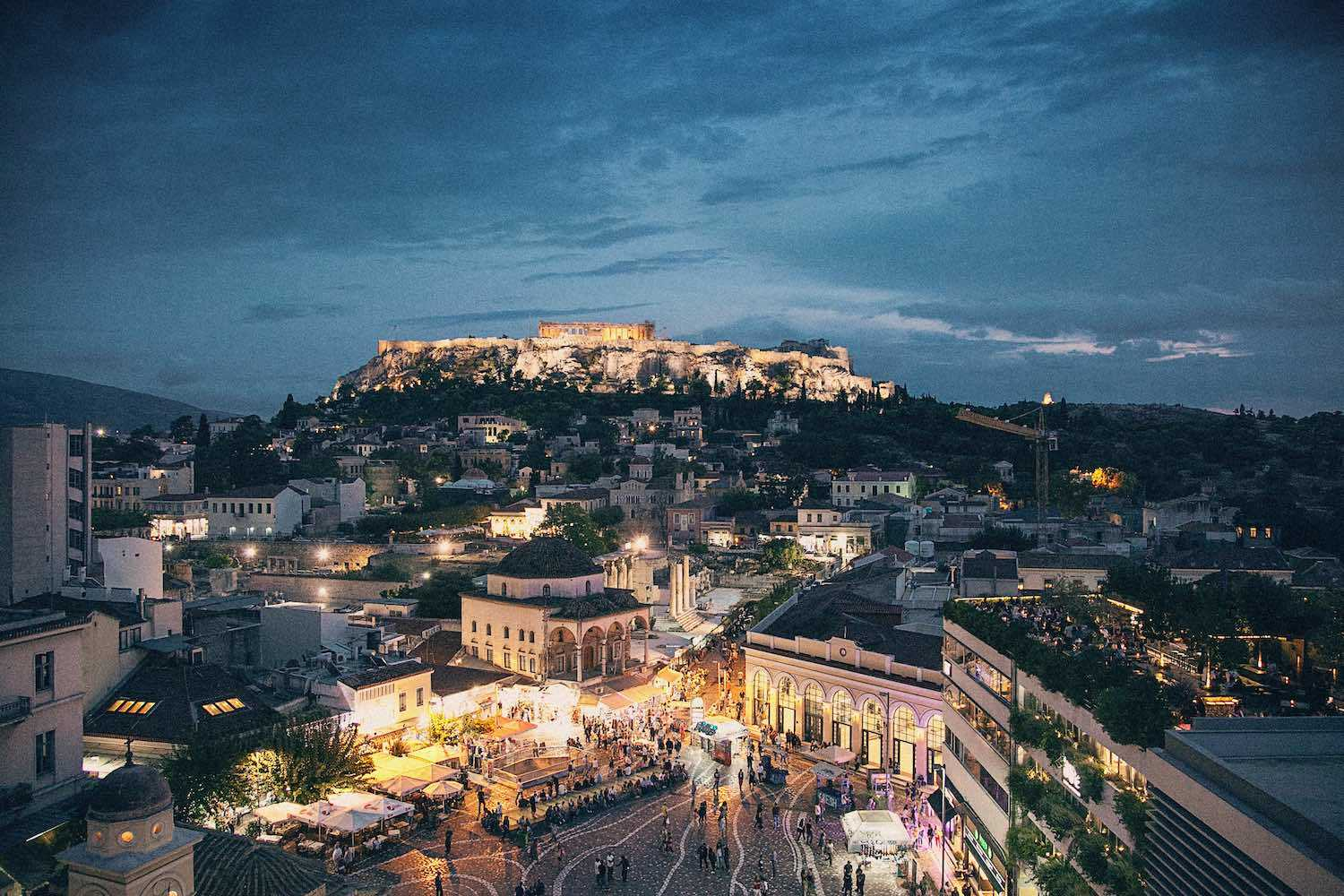 Where to stay in Athens for 2 Days