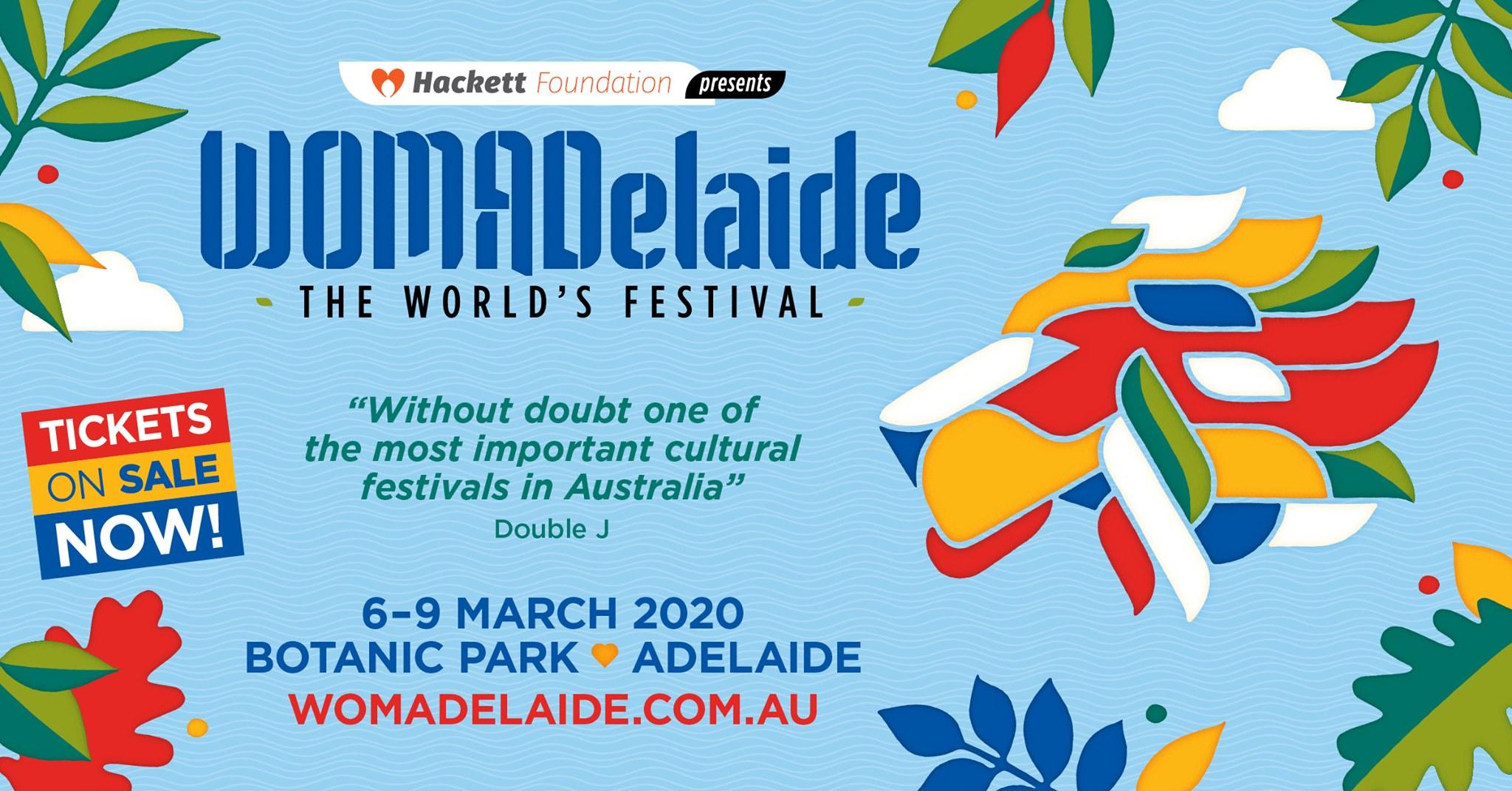 Womadelaide Festival, Australia 2020