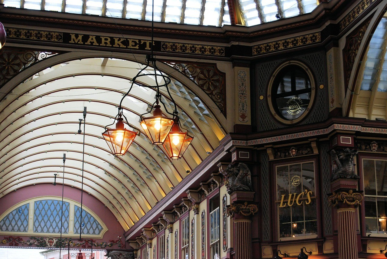 leadenhall market - 48 Hours in London Guide