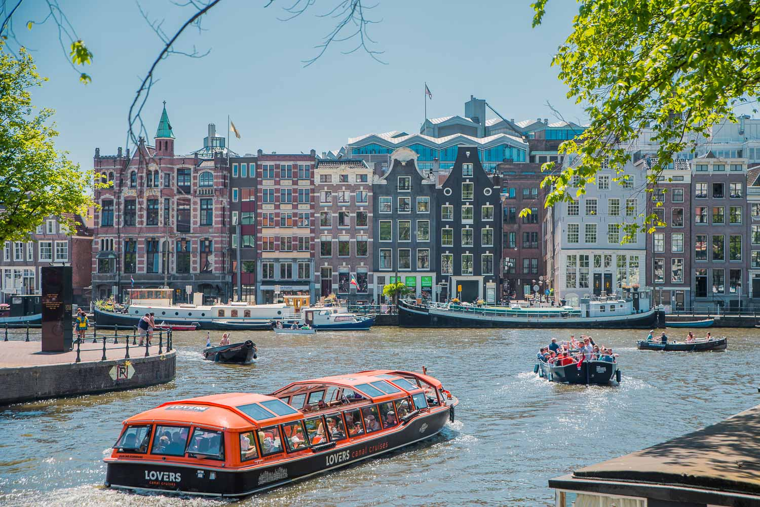 Canal Cruise - 48 Hours in Amsterdam