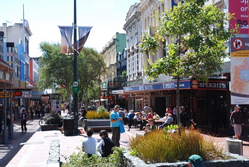 Cuba Street - Wellington New Zealand
