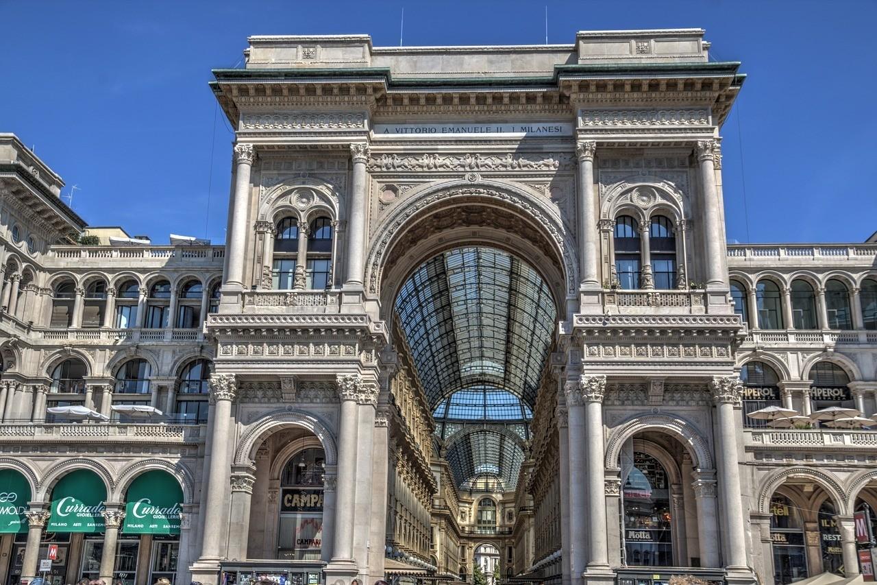 Grand Galleria Vittorio Emanuele II - Italy Itinerary 10 Days