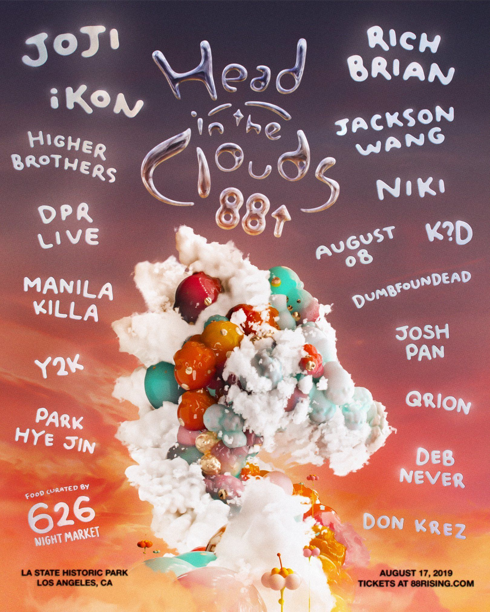 Head in the Clouds Music Festival - Hip Hop Festivals 2020