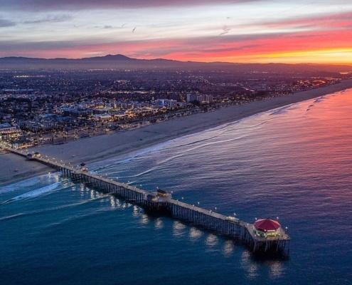 Hungtington Beach, California - LA to San Diego Drive Places to visit