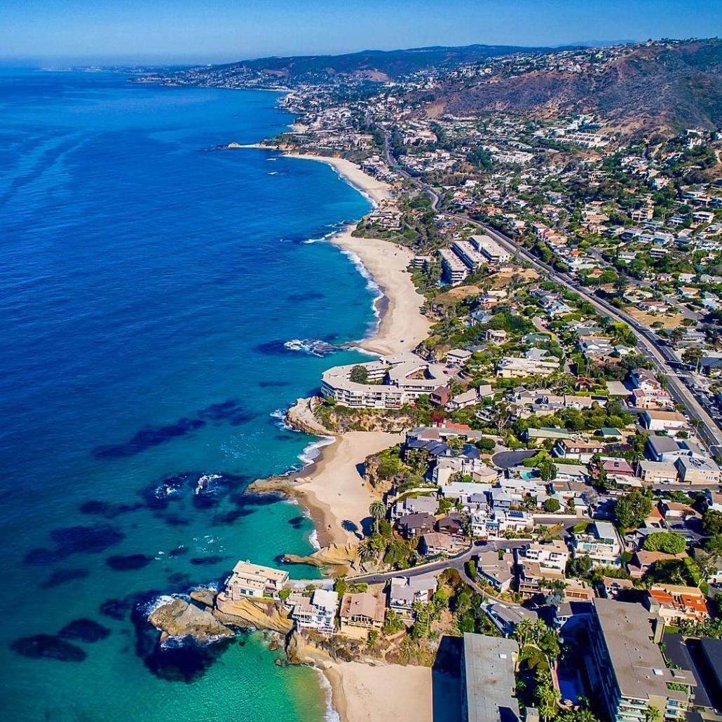 Laguna Beach - LA to San Diego Drive