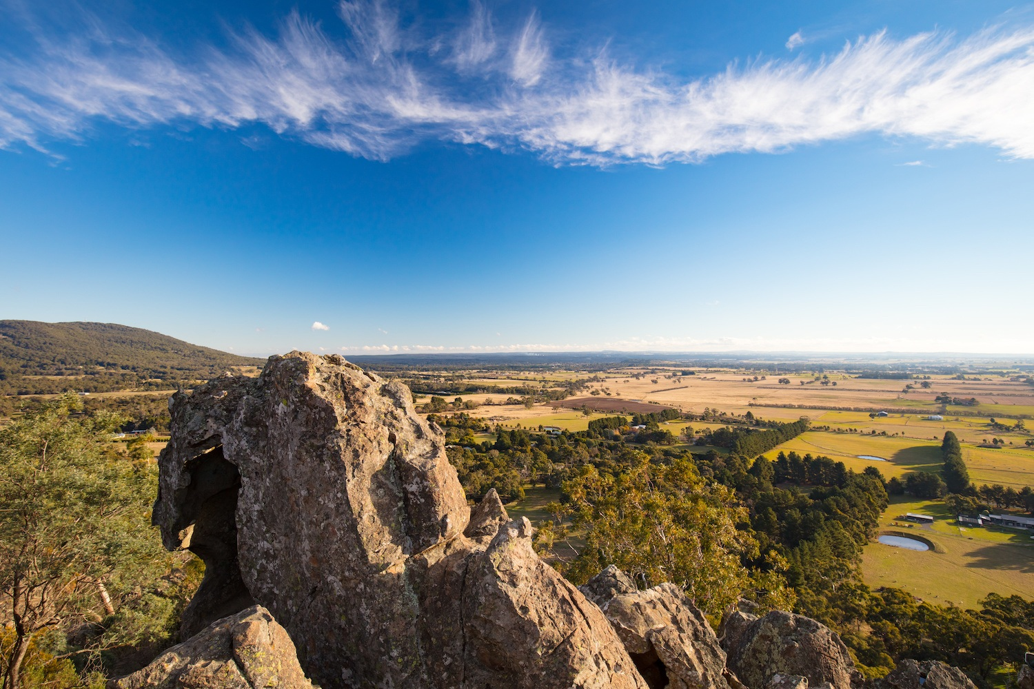 Hanging Rock in Macedon Ranges - Day Trips from Melbourne