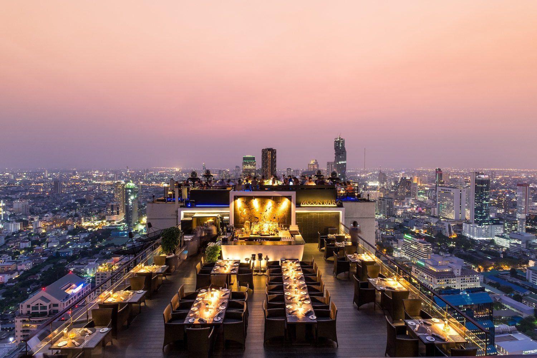 Moon Bar - Banyan Tree Bangkok - two Day itinerary