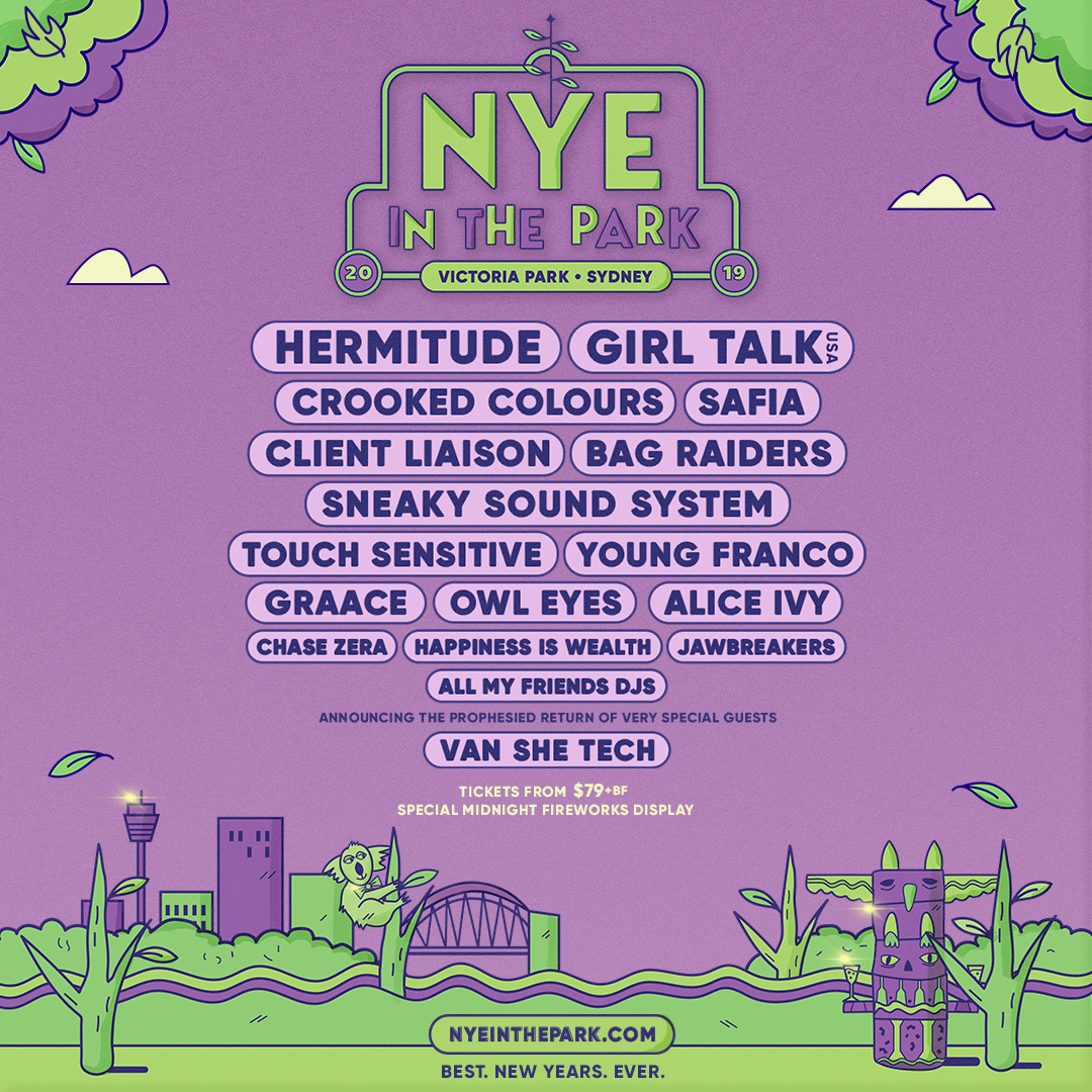 New Years Eve Music Festivals - Australia
