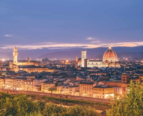 Piazzale Michaelangelo Sunset - Italy Itinerary 10 Days