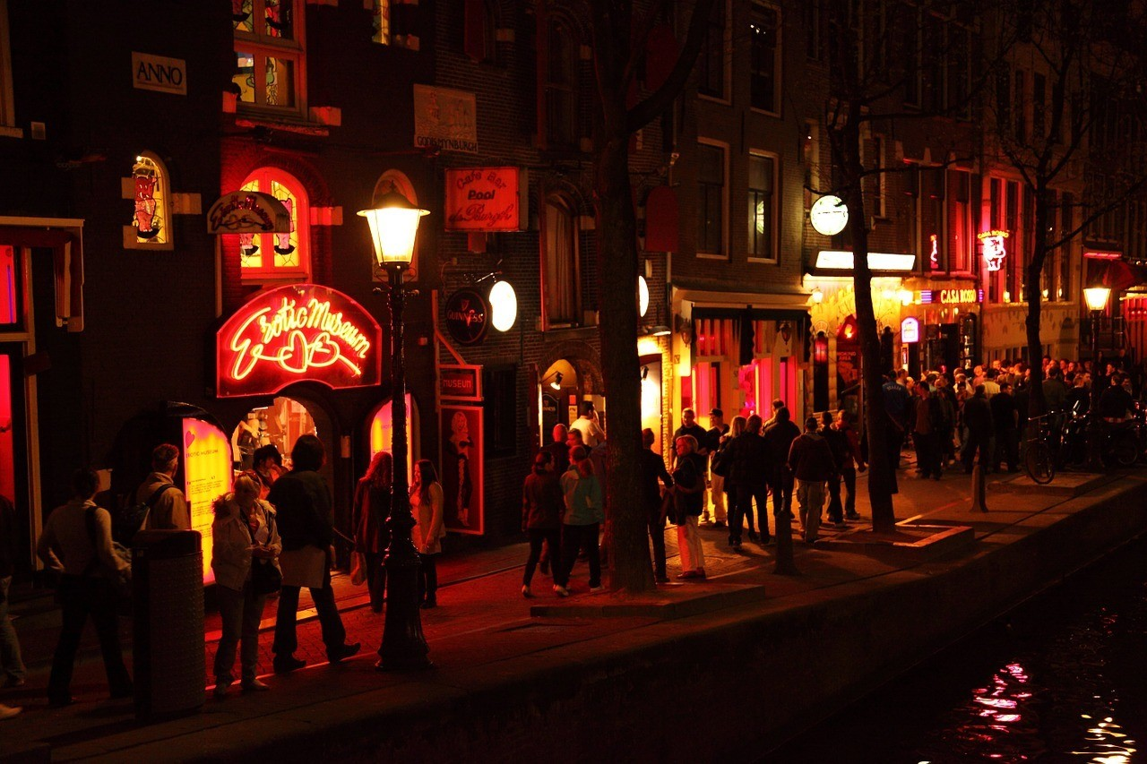 Red Light District - Amsterdam in Two Days