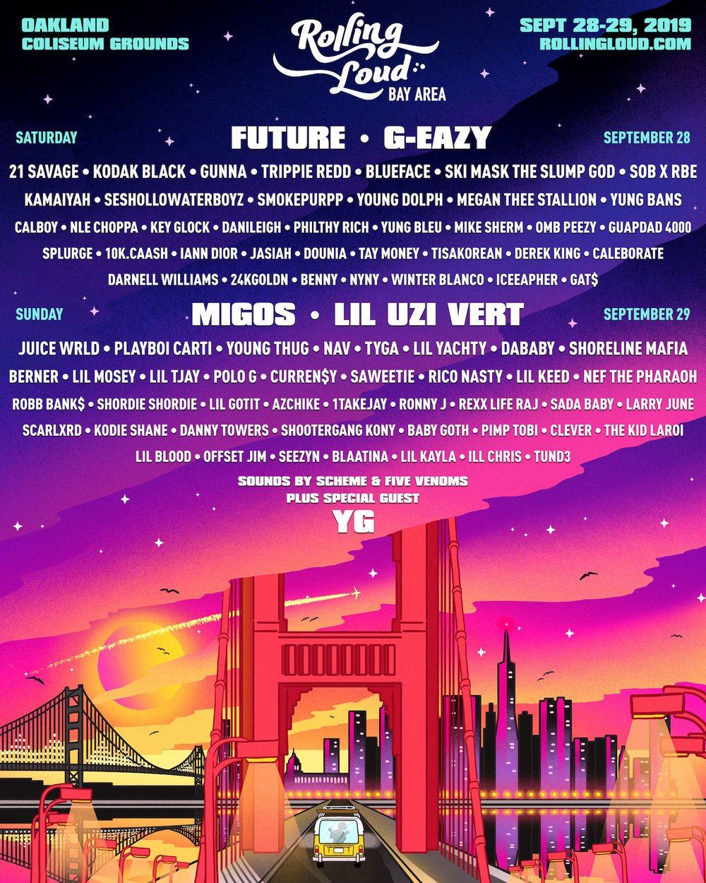 Rolling Loud Festival - Hip Hop Festivals 2019
