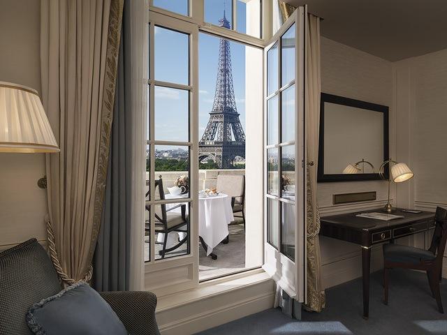 Shangri-La Hotel, Paris - Eiffel Tower Views
