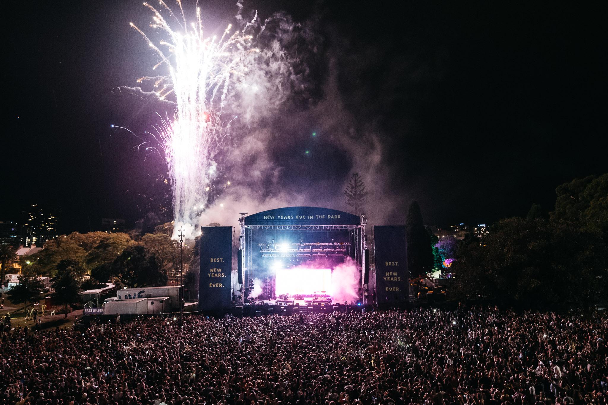 Sydney NYE - Music Festivals New Years Eve Australia 2019 - 2020