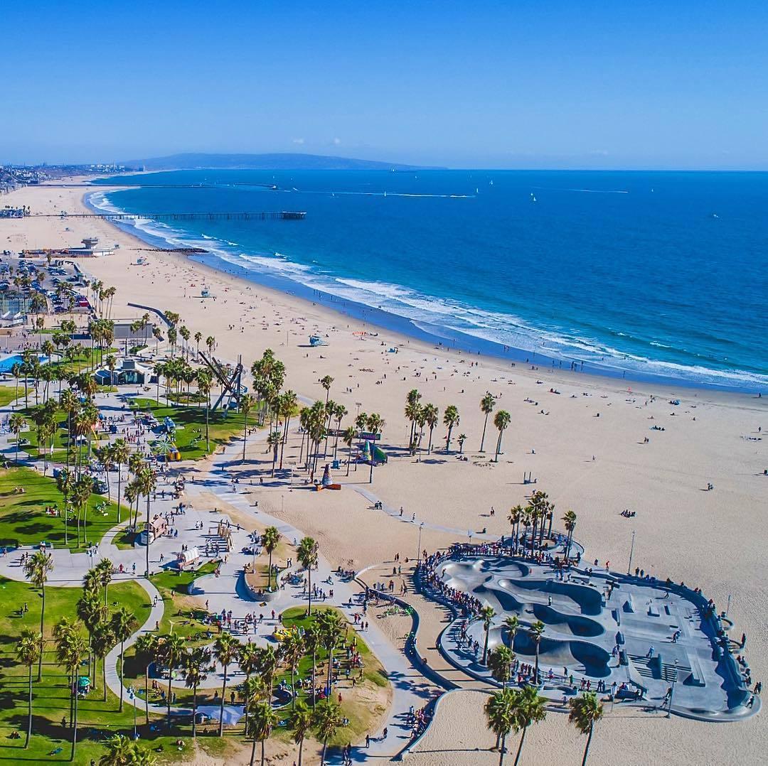 Venice Beach - LA to San Diego Drive