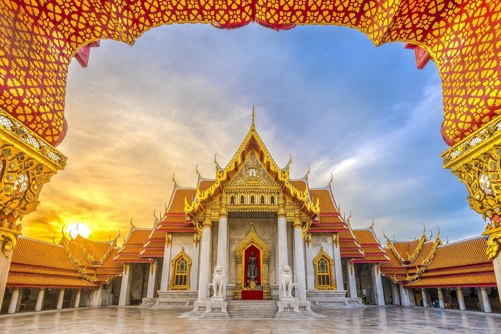 Wat Benja Temple- What to see in Bangkok in 2 Days