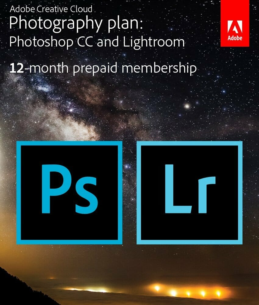 Adobe Suite - Best Gifts for Aspiring Photographers