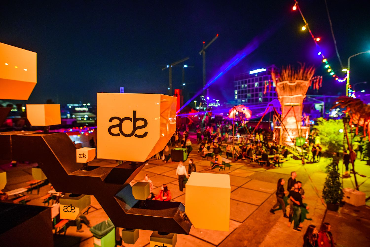 Amsterdam Dance Event ADE - Best Europe Festivals 2020