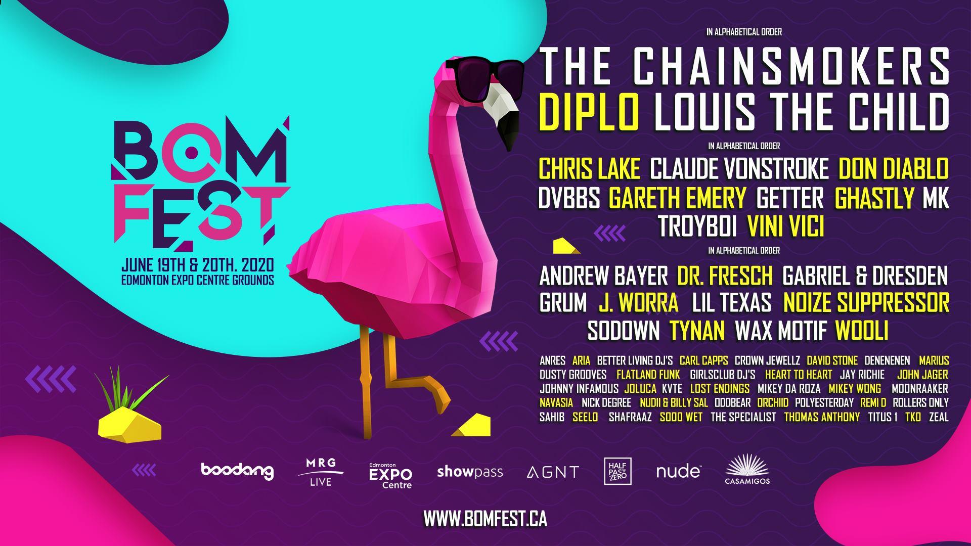 BOMFEST - Canada Music Festivals 2020