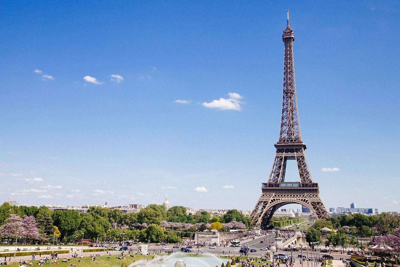 Eiffel Tower - 4 Days in Paris Itinerary
