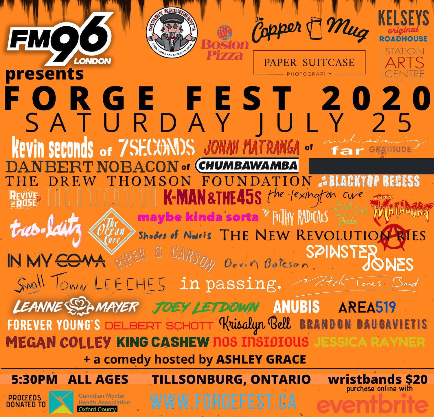 Forge Fest - Canada Music Festivals 2020