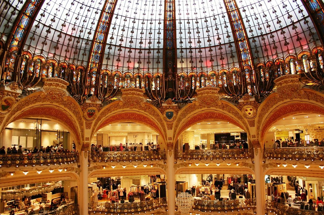 Galeries Lafayette - Best 4 Days in paris Itinerary
