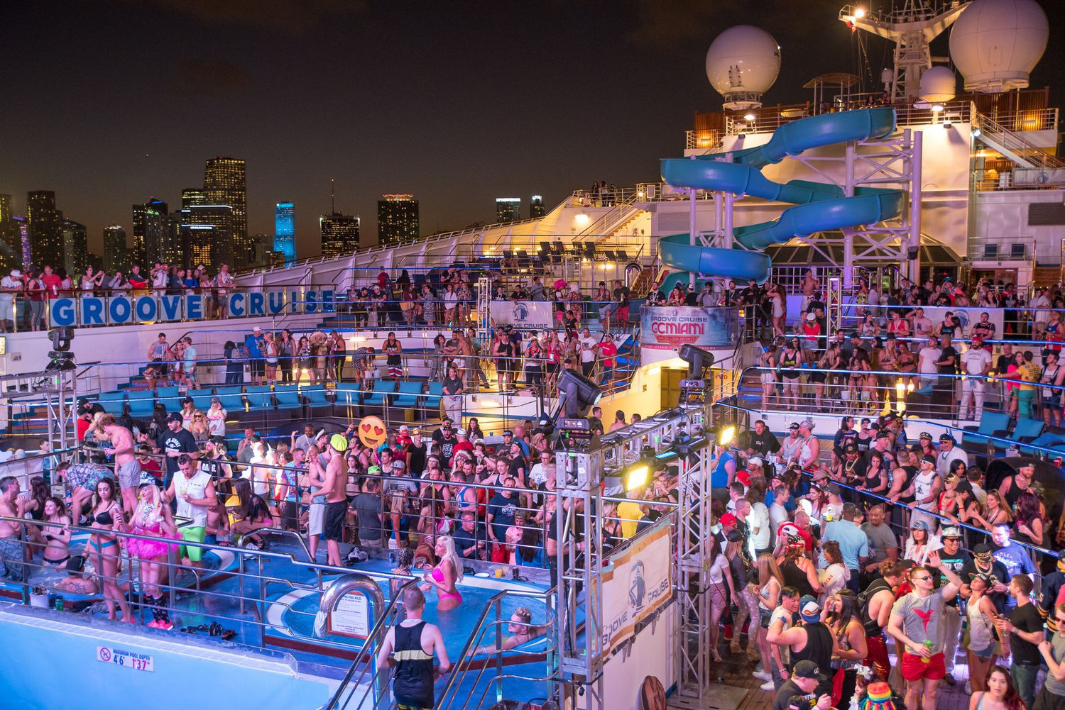 Groove Cruise - Best US Music Festivals 2020