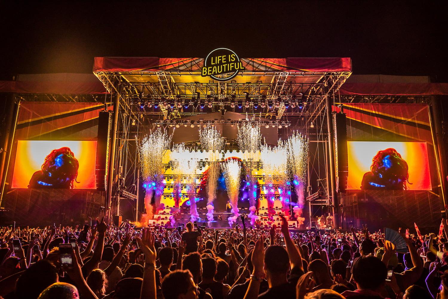Life is Beautiful - Best USA Music Festivals