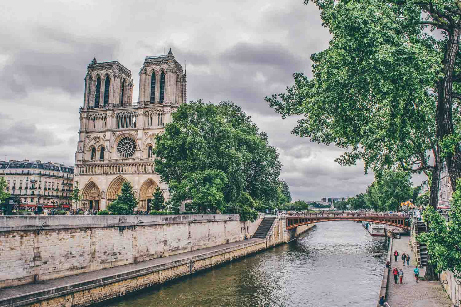 Notre Dame - 4 Days in Paris Itinerary