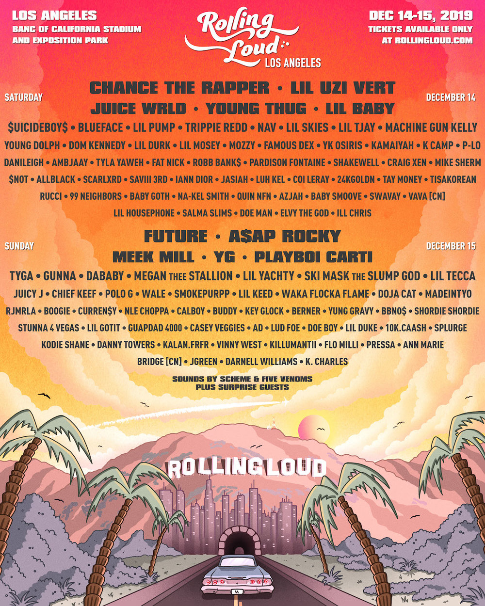 Rolling Loud Music Festival - Best Music Festivals in USA 2020