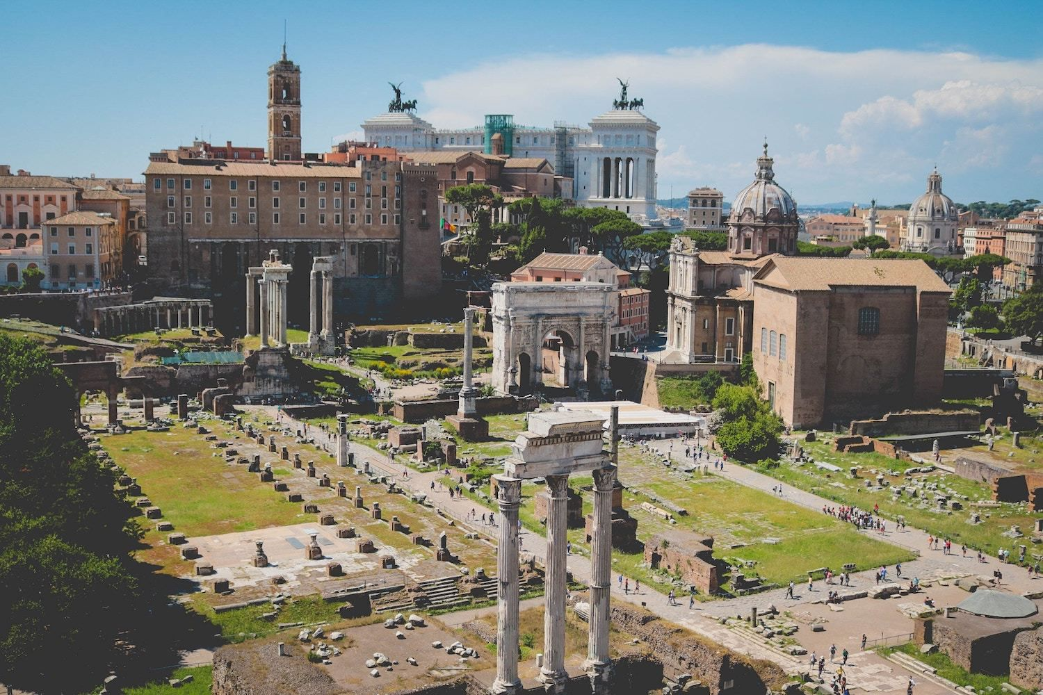 Roman Forum - Best 3-Day Rome itinerary