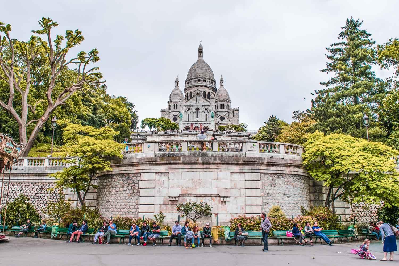 Sacré-Cœur - 4 Days in Paris Itinerary