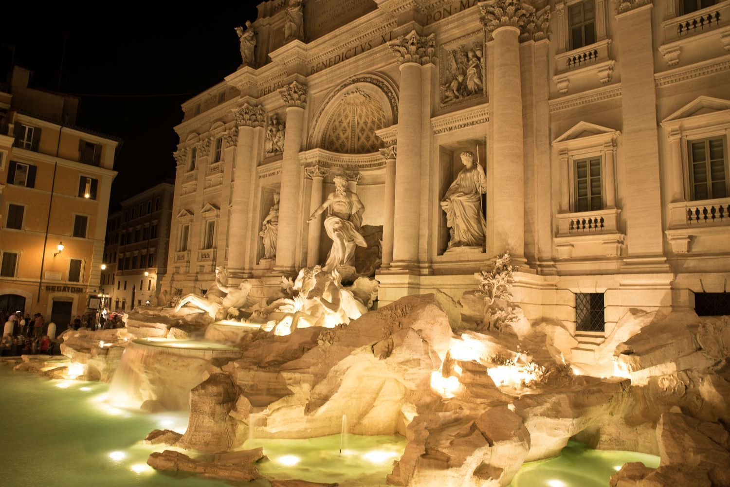 Trevi Fountain - What to see in Rome in 3 Days