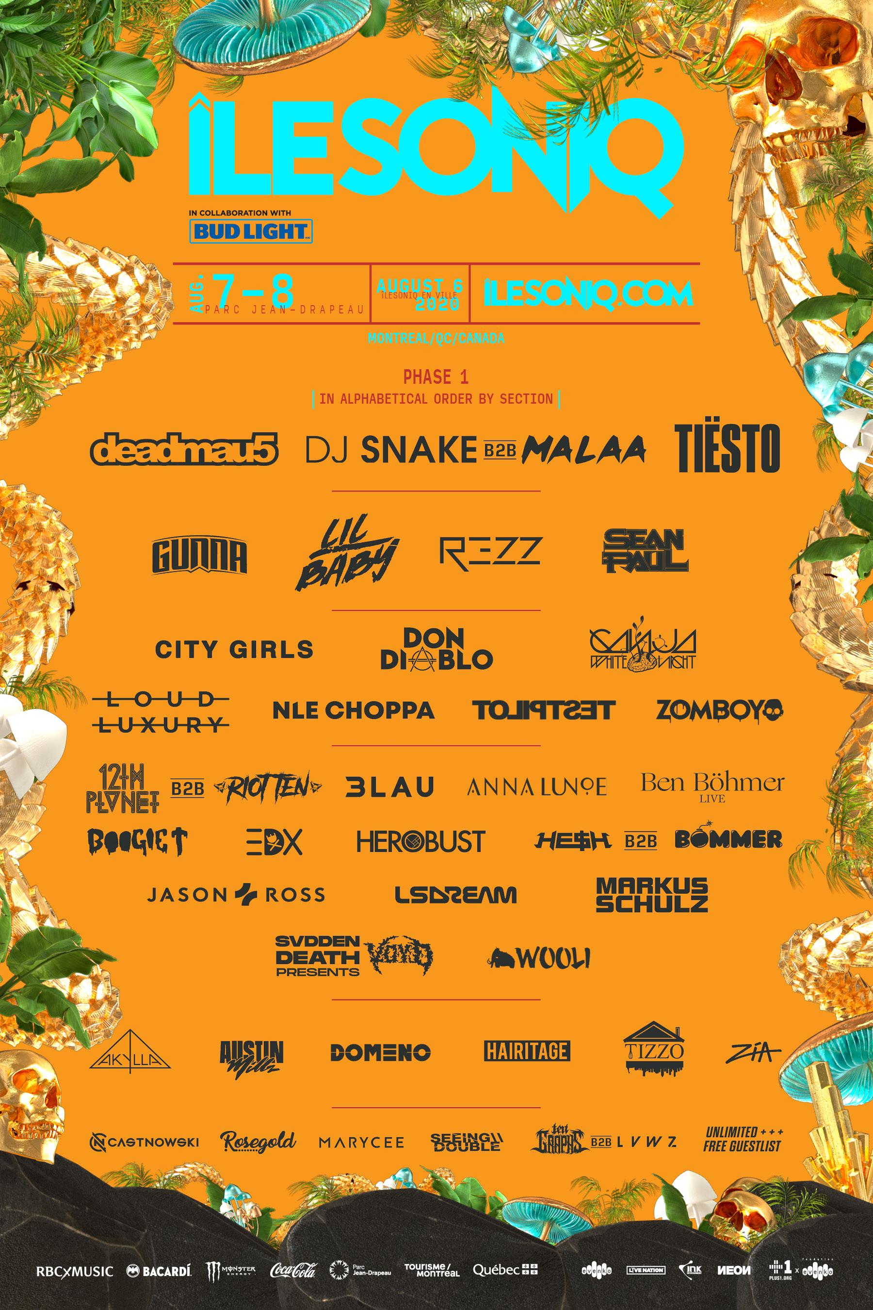 ileSoniq 2020 Music Festival Canada
