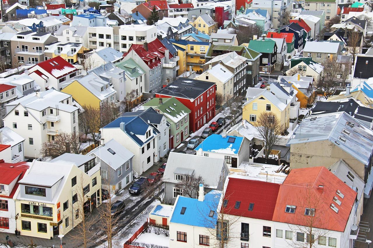 reykjavik - iceland in february