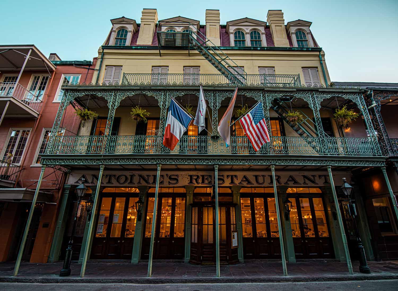 2 Days in New Orleans - Antoine's Restaurant