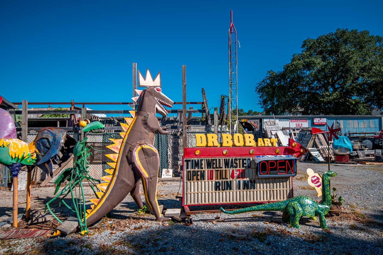 Dr Bob Folk Art - 2 Days in New Orleans