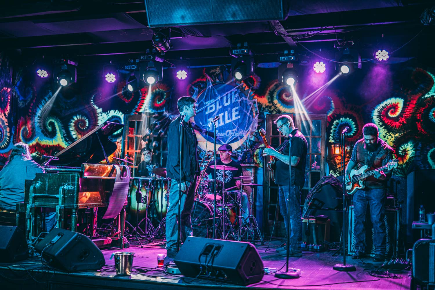 Blue NIle - 2 Days in New Orleans