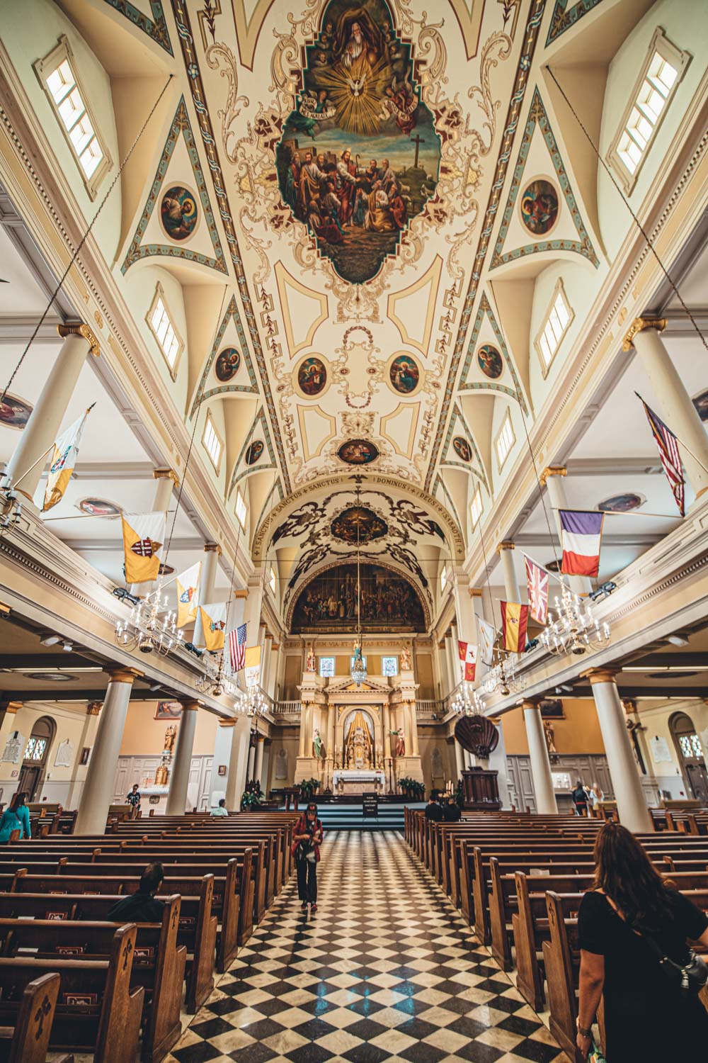 St. Louis Cathedral - 2 Days in New Orleans