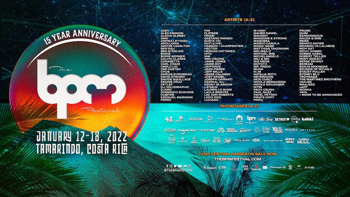 BPM Festival Costa Rica 2022