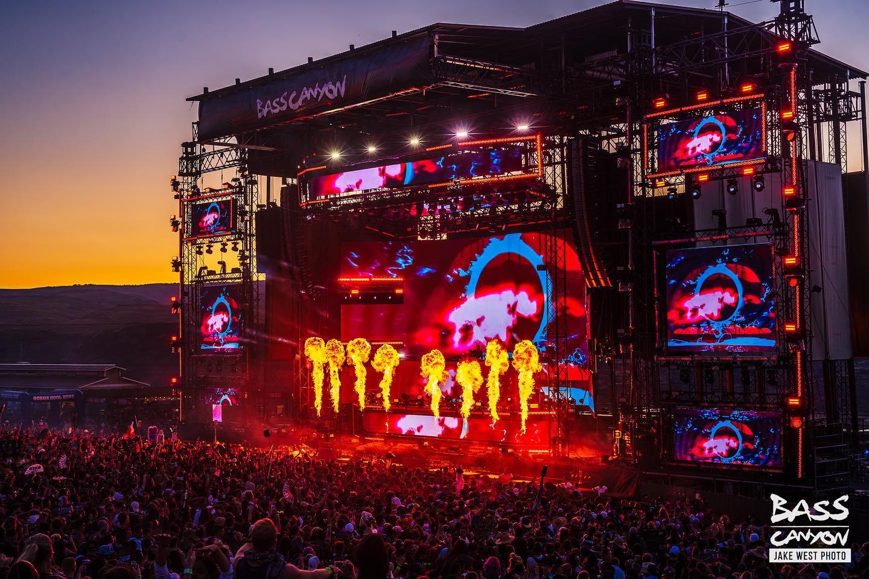 Bass Canyon EDM Festival Washington 2021