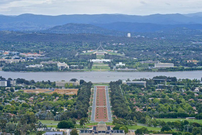 Canberra - Largest Cities in Australia by Population