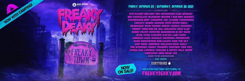 Freaky Deaky Electronic Music Fesival Texas 2021